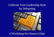 Workshop For Pastor's Only!